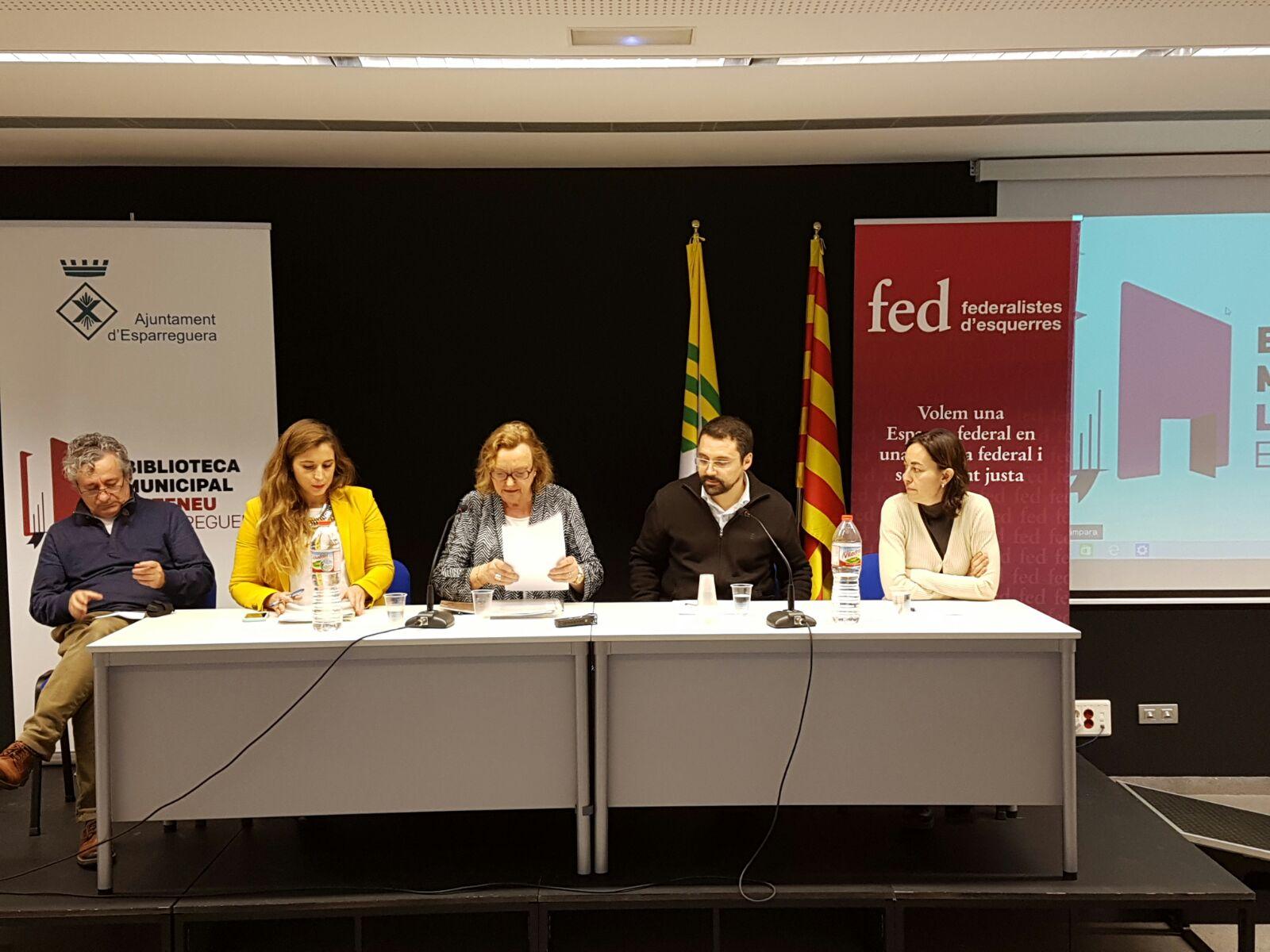 Foto LC. Acte Volem una Espanya federal i una societat justa