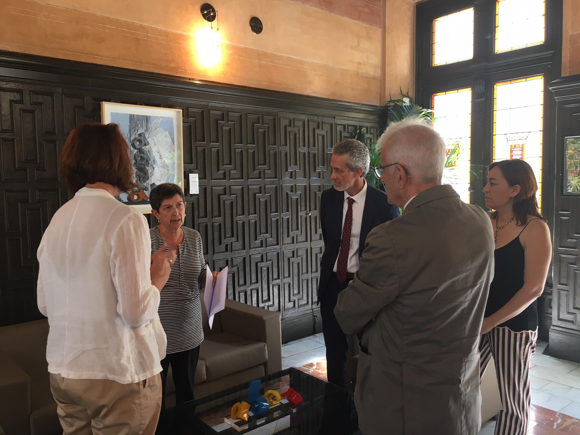 Visita delegada govern a Girona