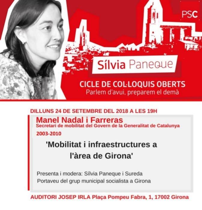 Mobilitat a l'àrea de Girona