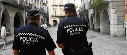 Policia Municipal - foto Diari de Girona
