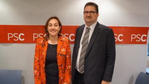 Sílvia Paneque i Jordi Calvet